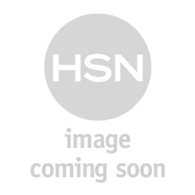 AKKAD Clear Crystal Black Enamel Rosetone Dome Ring
