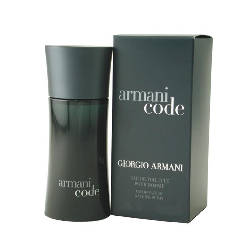 Giorgio Armani Armani Black Code for Men by Giorgio Armani - Eau De Toilette Spray 2.5 Oz