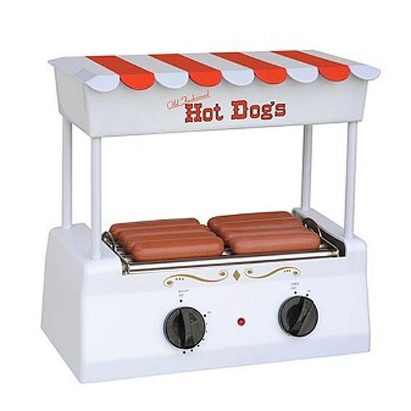 Nostalgia Electrics Nostalgia Electrics Old Fashioned Hot Dog Roller Grill
