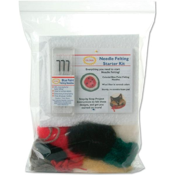 COLONIAL NEEDLE Felting Needle Starter Kit