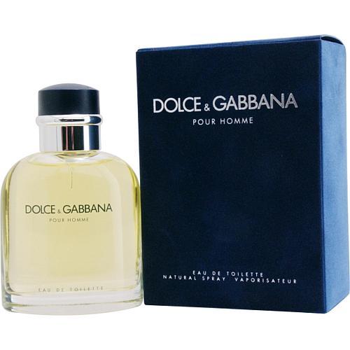 Dolce and Gabbana Men's Eau De Toilette Spray - 2.5 Oz.