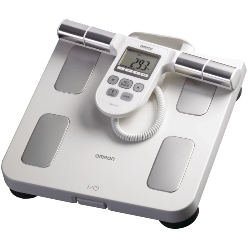 Omron HBF-510W Full-Body Sensing Monitor and Scale - White