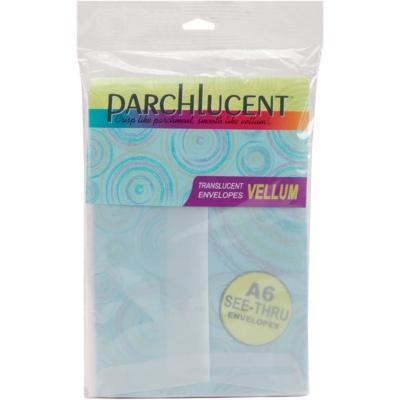LEADER PAPER PRODUCTS Leader Paper Products A6 Parchlucent Vellum Envelopes - 25-pack