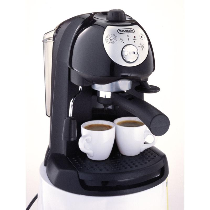 De'Longhi Pump-Driven Espresso/Cappuccino Maker - Black