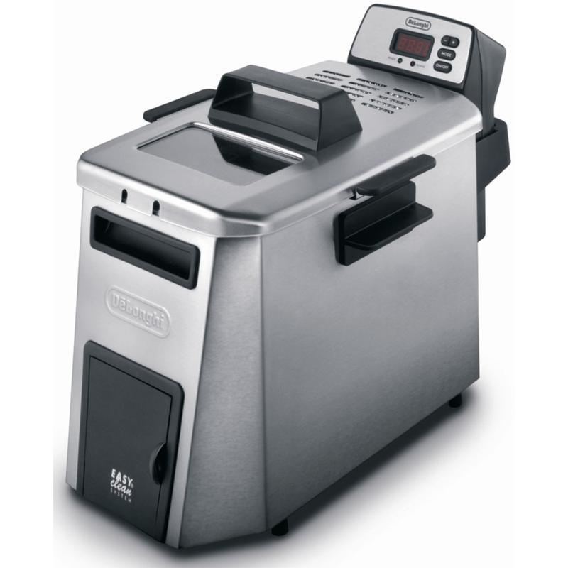 De'Longhi Dual Zone Digital Deep Fryer - Stainless Steel