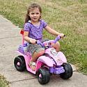 Trademark Global, Inc. Precess 4 Wheel Mini ATV - Pink/Purple