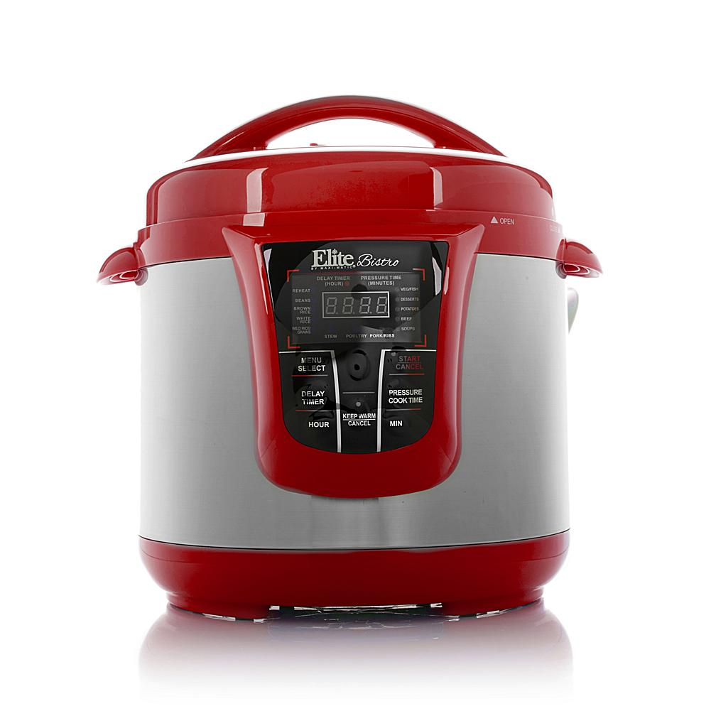 Discount Electronics On Sale Elite 13-Function 8qt Electronic Pressure Cooker