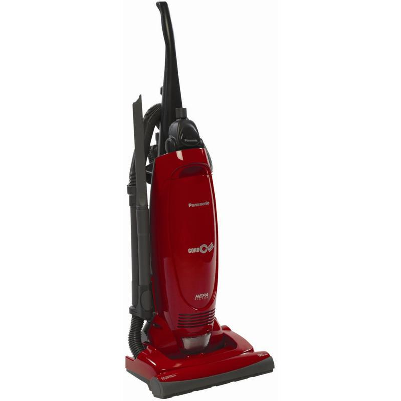 Panasonic 12-Amp Upright Vacuum Cleaner with Cord Reel