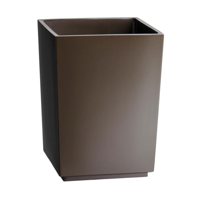 Kraftware Corp. Hemingway Resin Waste Basket - Natural Brown