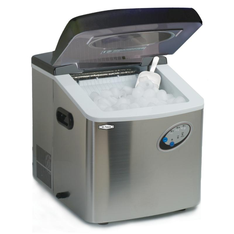 Elite Mr. Freeze Stainless Steel Portable Ice Maker