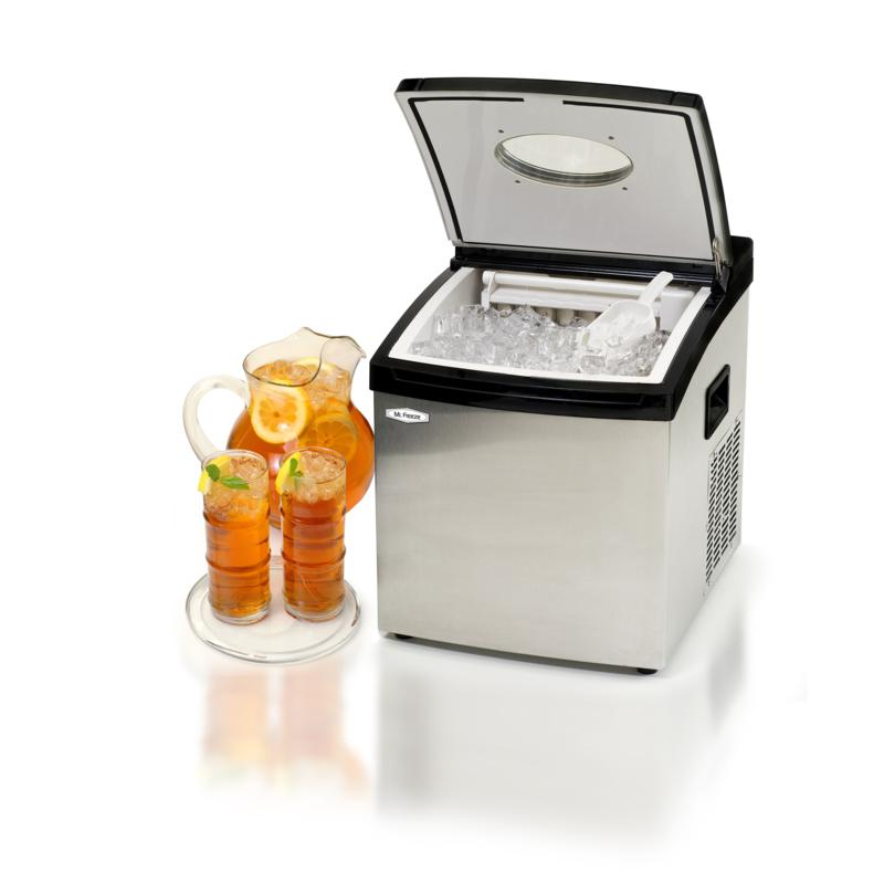 Elite Mr. Freeze Stainless Steel Portable Clear Ice Cube Maker