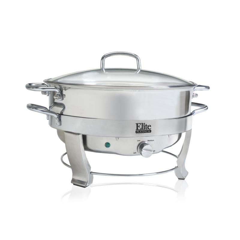 Elite Elite Platinum 5qt. Electric Chafing Dish