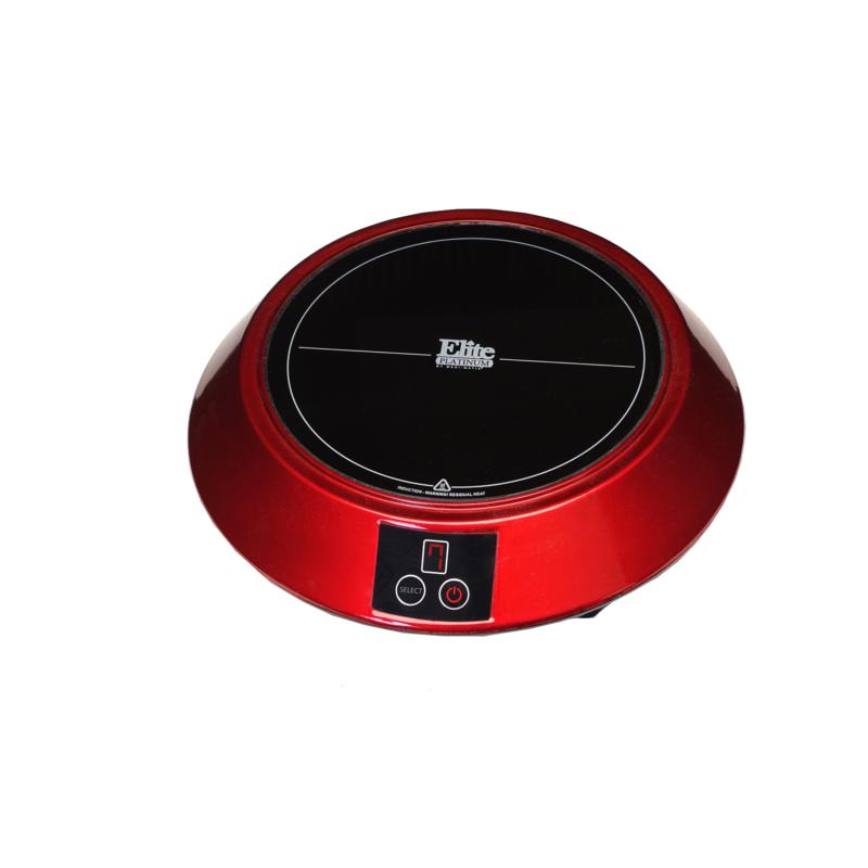 Elite Elite Platinum Portable Induction Cooker - Red