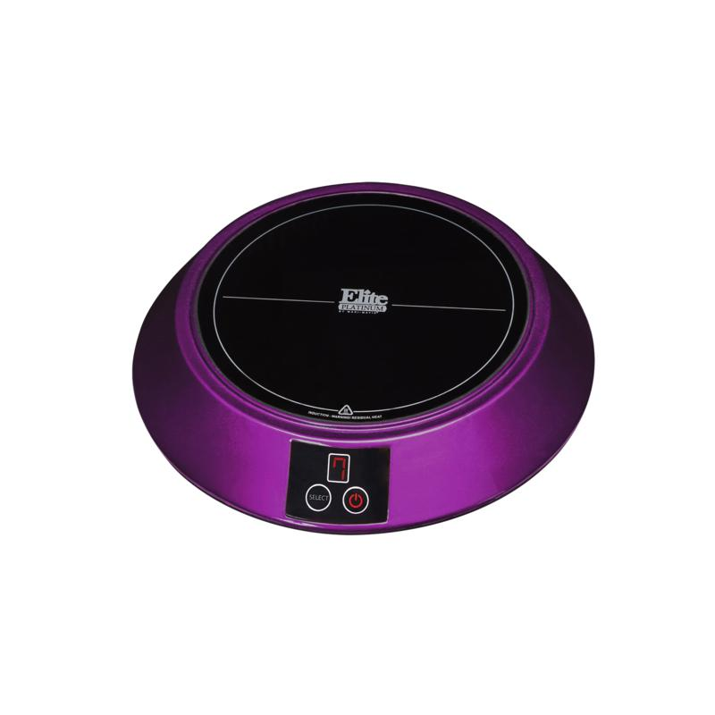 Elite Elite Platinum Portable Induction Cooker - Purple
