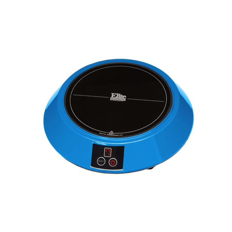 Elite Elite Platinum Portable Induction Cooker - Blue