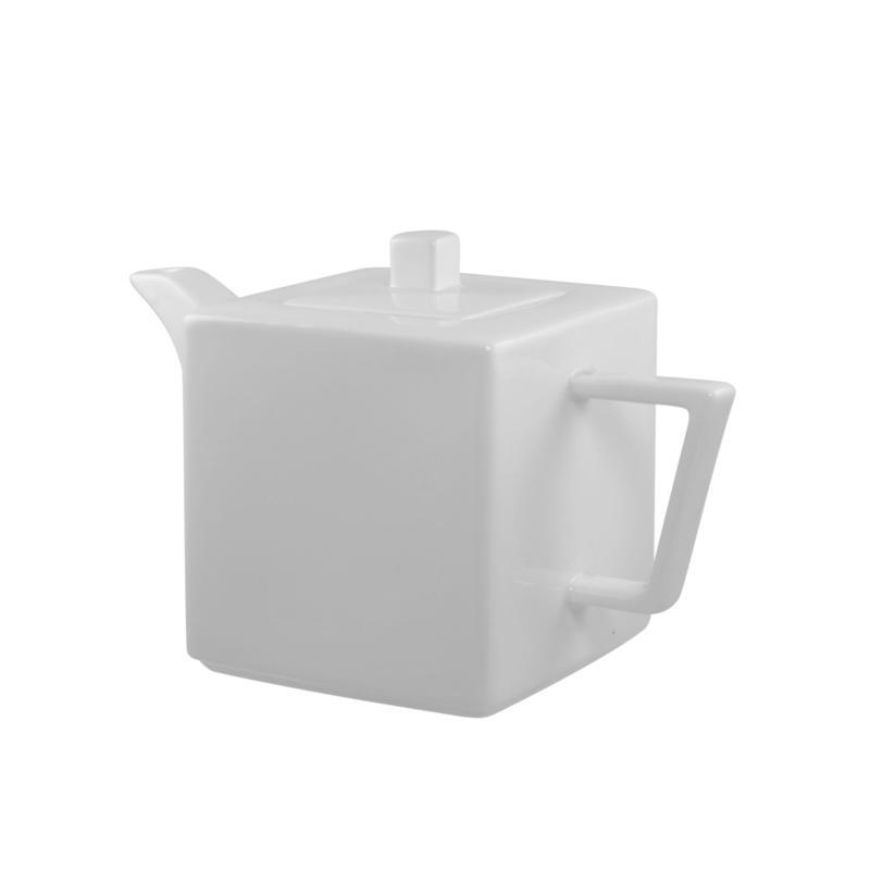 Ten Strawberry Street 10 Strawberry Street Whittier 20 oz. Square Tea Pot Pair