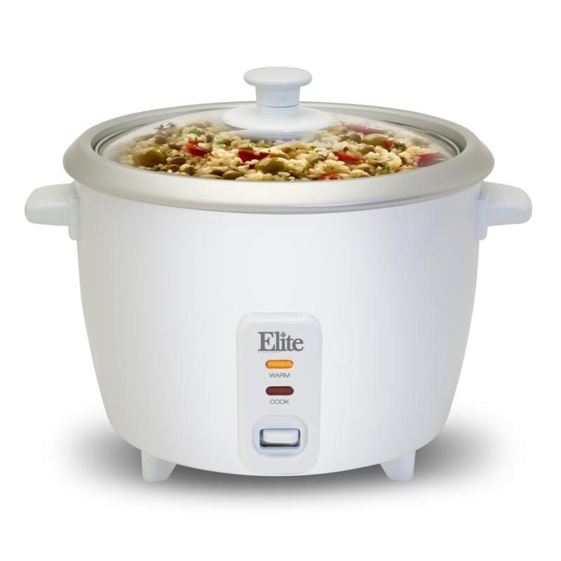 Elite Elite Gourmet 16-Cup Rice Cooker with Steam Tray