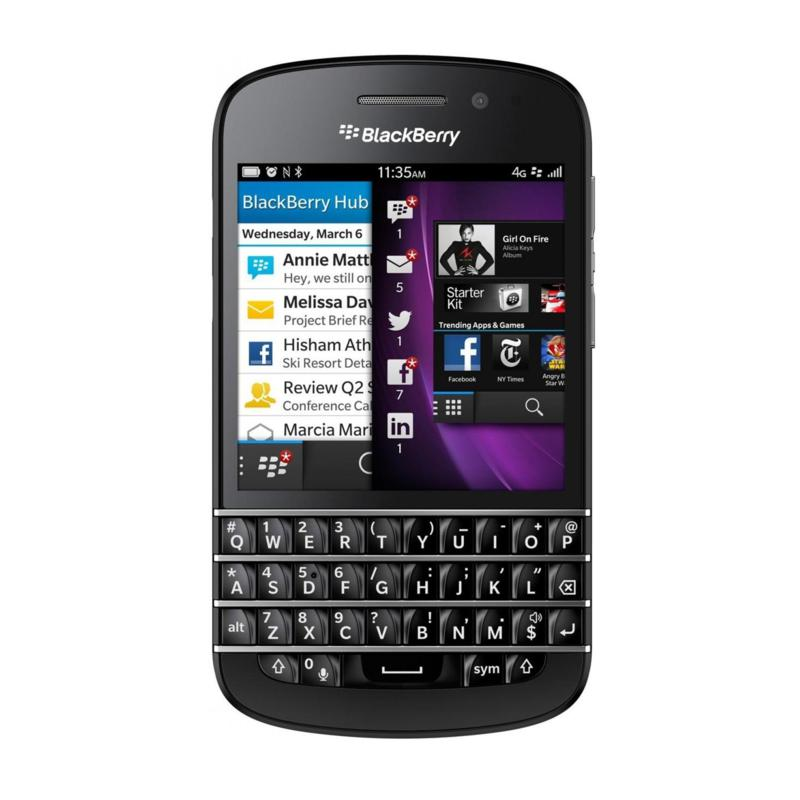 BlackBerry BlackBerry Q10 Unlocked GSM Smartphone - Black