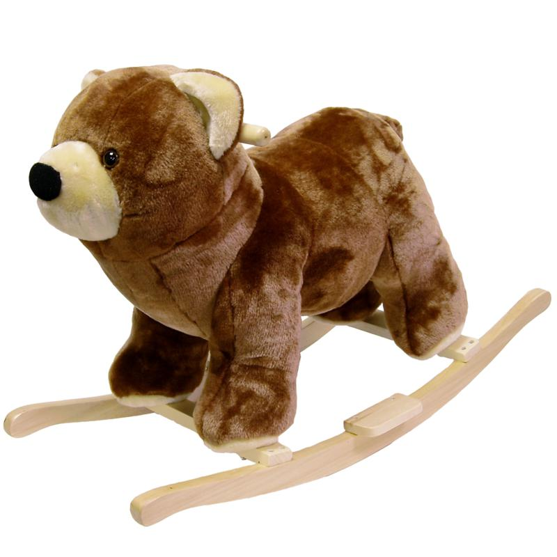 Happy Trails Happy Trails Plush Rocking Bear
