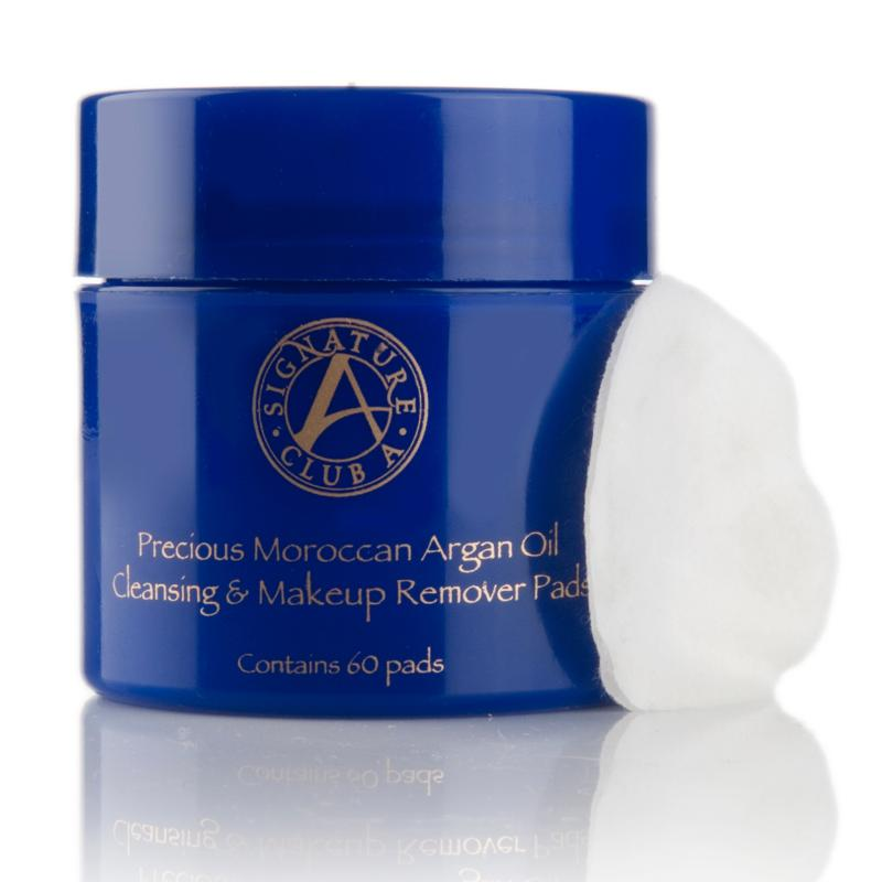 Signature Club A Precious Moroccan Argan Oil Cleansing & Makeup Remover Pads
