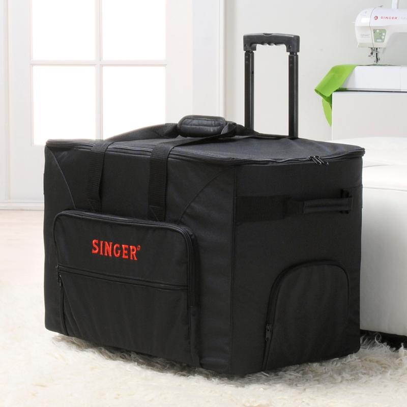Singer Futura Quartet Rolling Sewing Machine Case