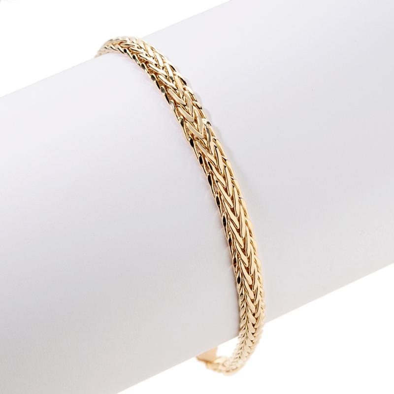 Technibond Technibond Wheat Chain Anklet