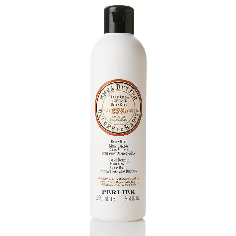 Perlier 8.4 fl. oz. Shea Butter Bath Cream with Sweet Almond Milk