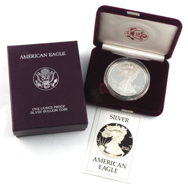 Coin Collector 1986 Proof Silver Eagle Dollar