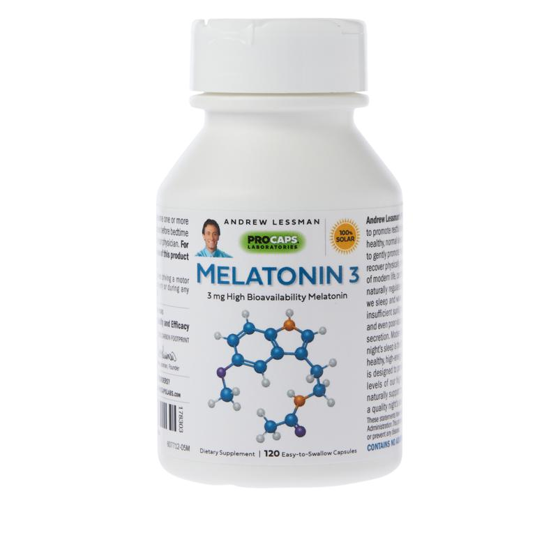 Andrew Lessman Melatonin-3 - 120 Capsules
