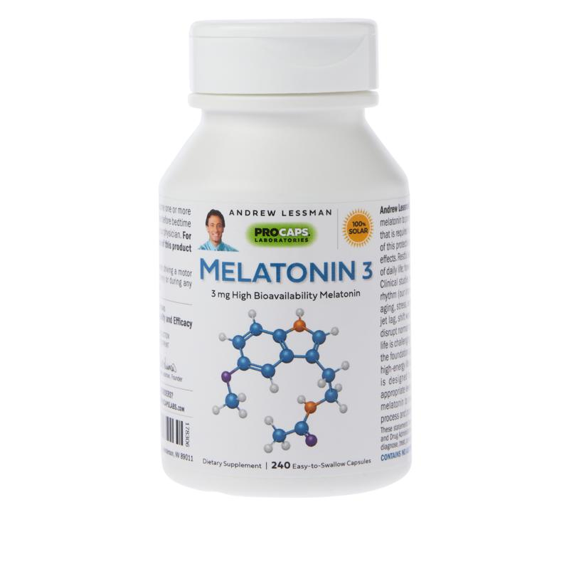 Andrew Lessman Melatonin-3 - 240 Capsules