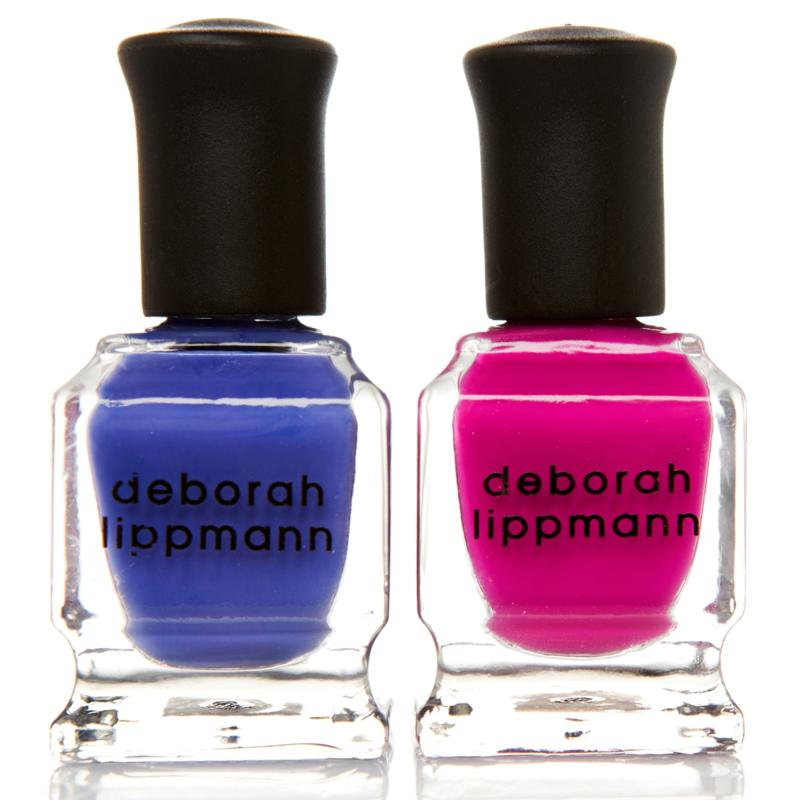 Deborah Lippmann Mini Nail Lacquer Duo - Between the Sheets & I Know What Boys Like
