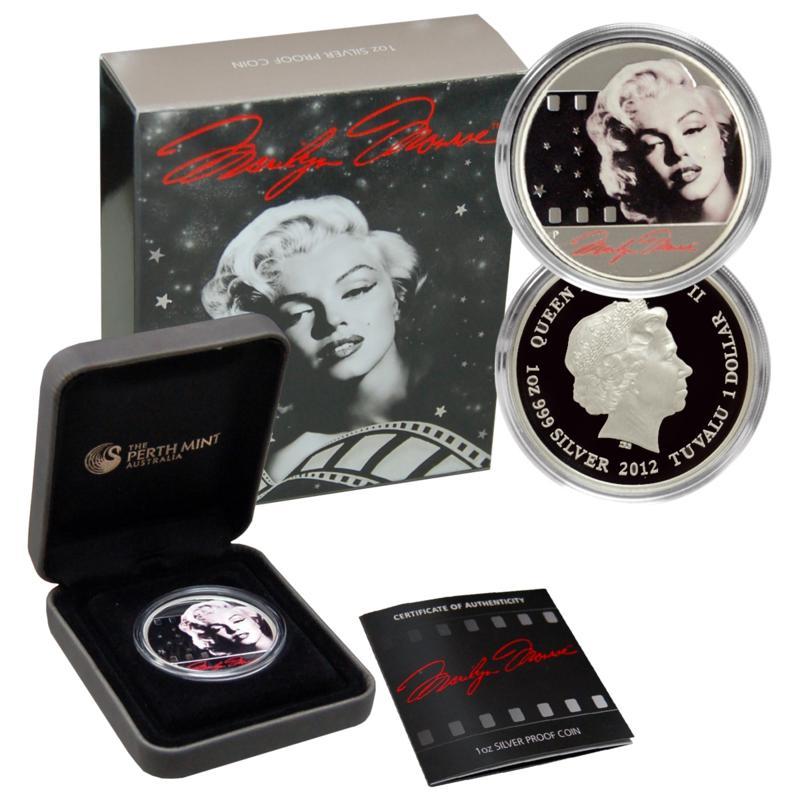 Coin Collector Marilyn Monroe Silver Proof Dollar Coin