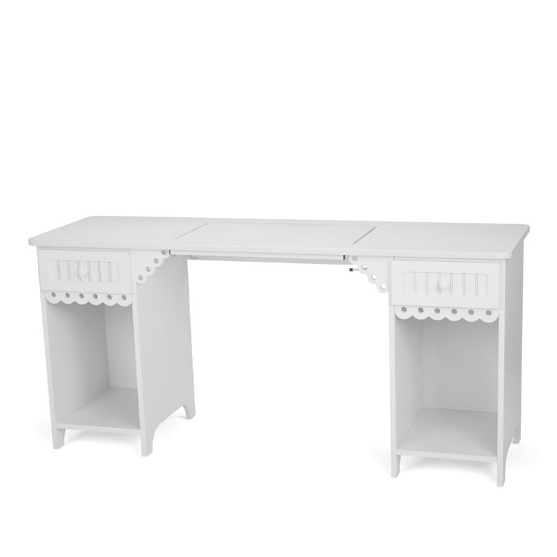 Arrow Tables Olivia Sewing Table - White