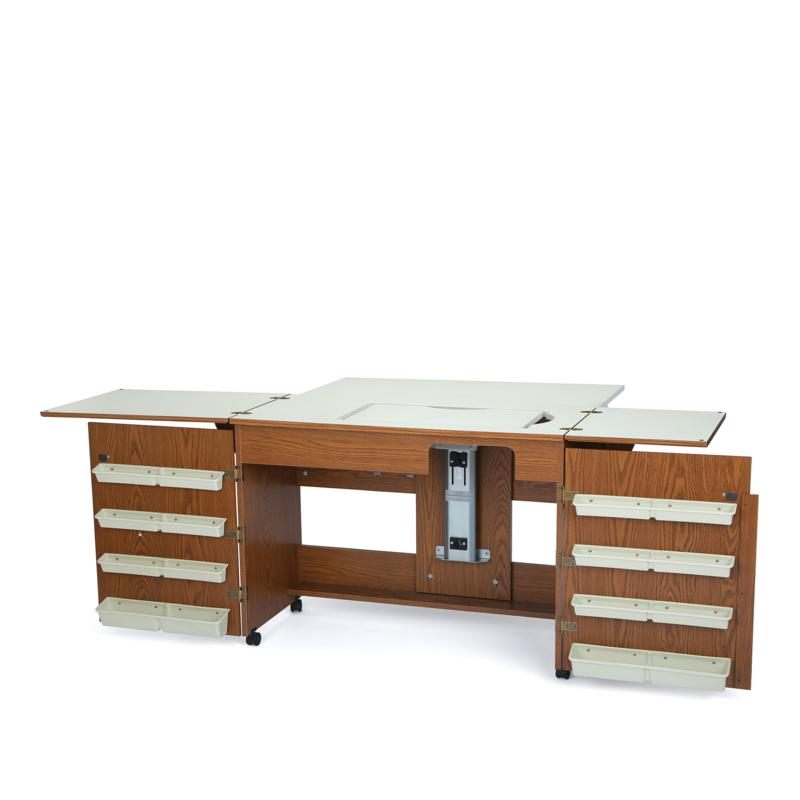Arrow Tables Bertha Sewing Table - Oak