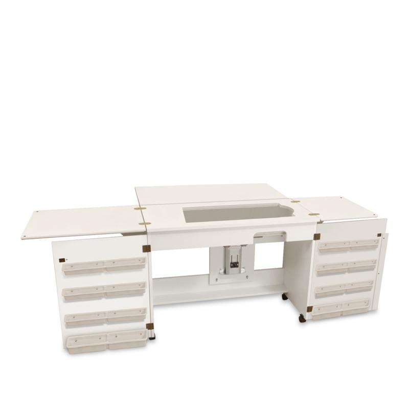 Arrow Tables Bertha Sewing Table - White