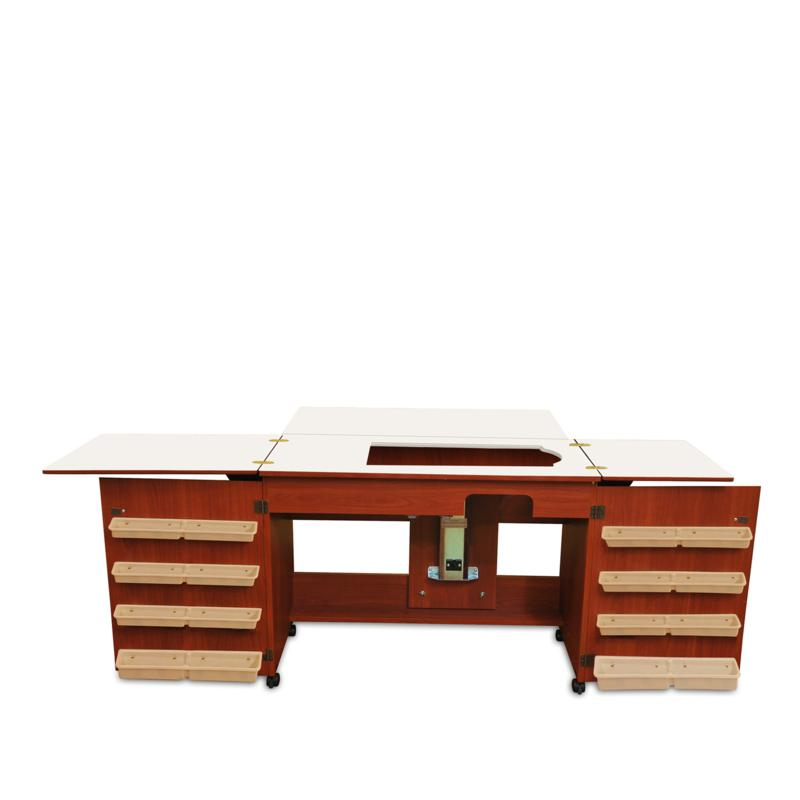 Arrow Tables Bertha Sewing Table - Cherry