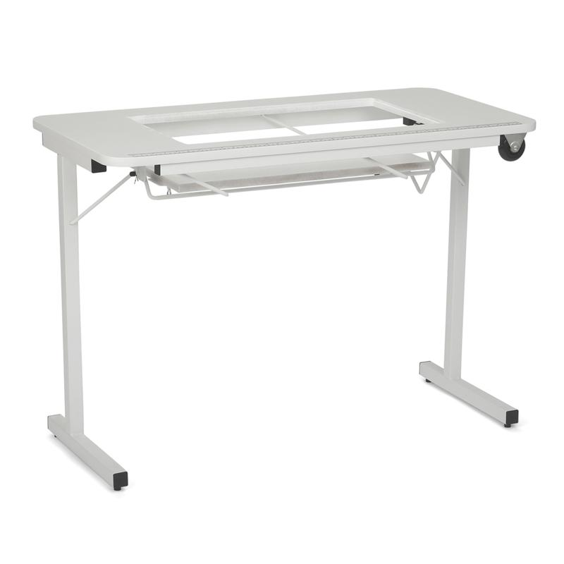 Arrow Tables Gidget II Folding Sewing Table with Wheels