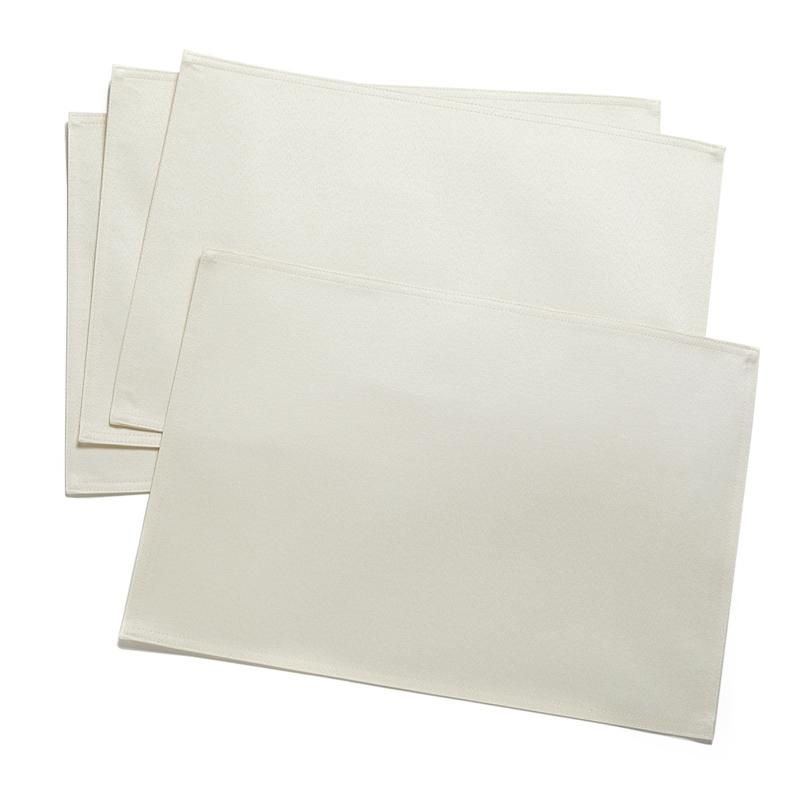 Joy Mangano 4-pack Placemats - Water-Repellent, Stain-Resistant