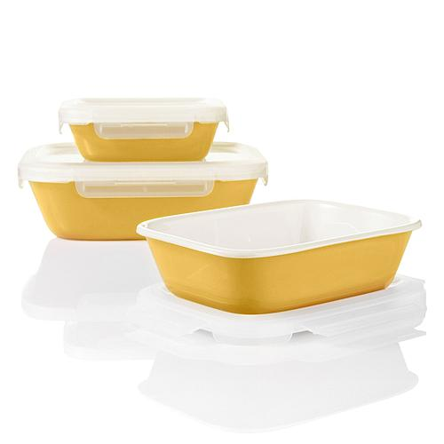 6-piece Premier Set in Colors: Store, Stack & Serve