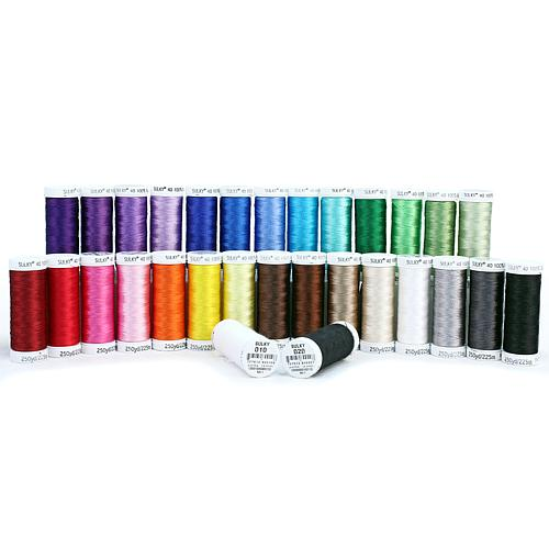 250 Yd. Rayon 40 Wt. Embroidery Thread 30 Pack