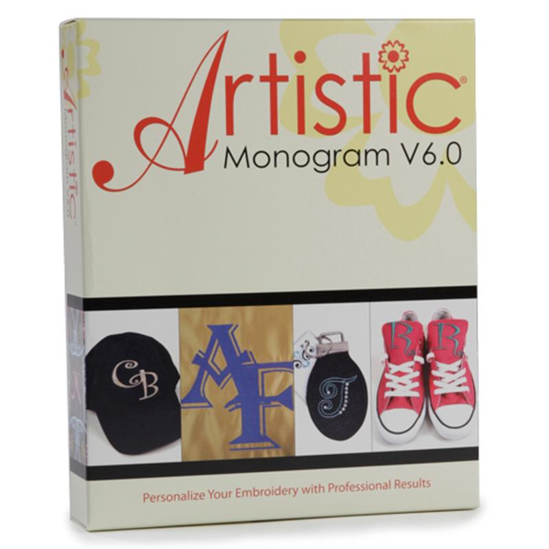 Janome Artistic Monogram Software CD