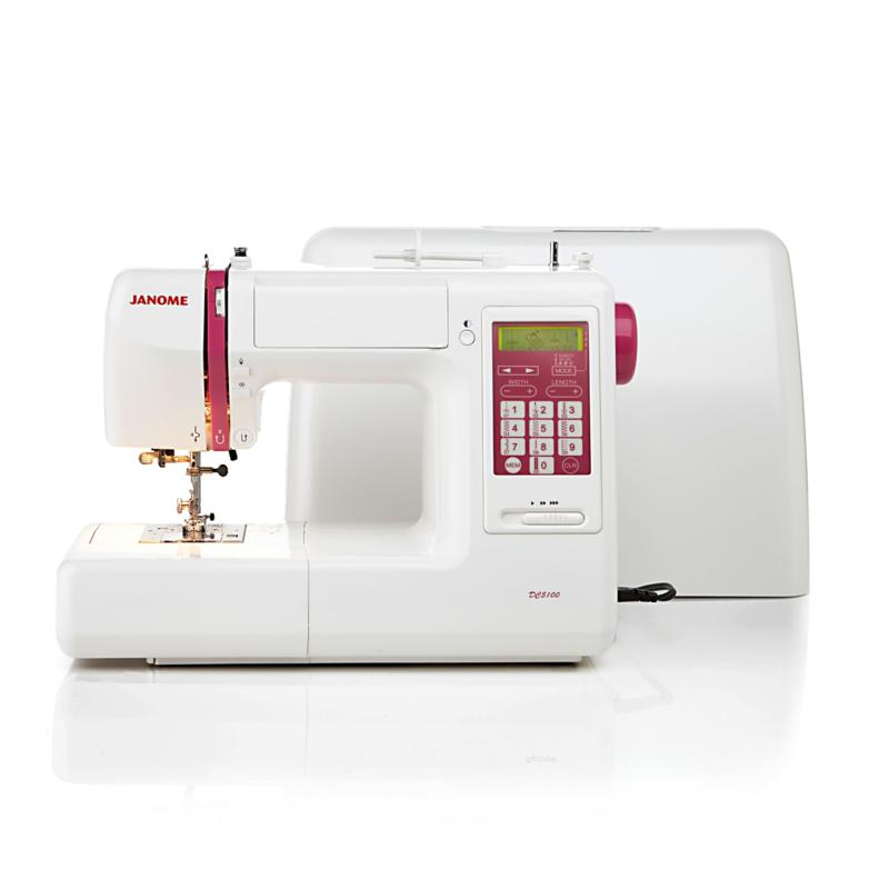 Janome Janome DC5100 Computerized Sewing Machine with Circular Sewing Attachment