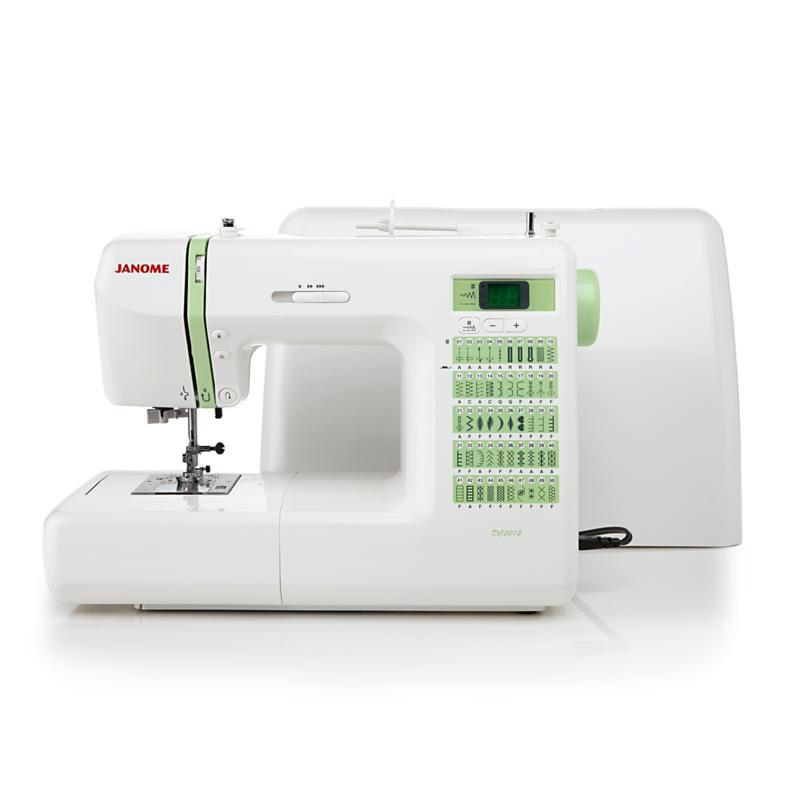 Janome DC2012 Sewing Machine with Tote Bag