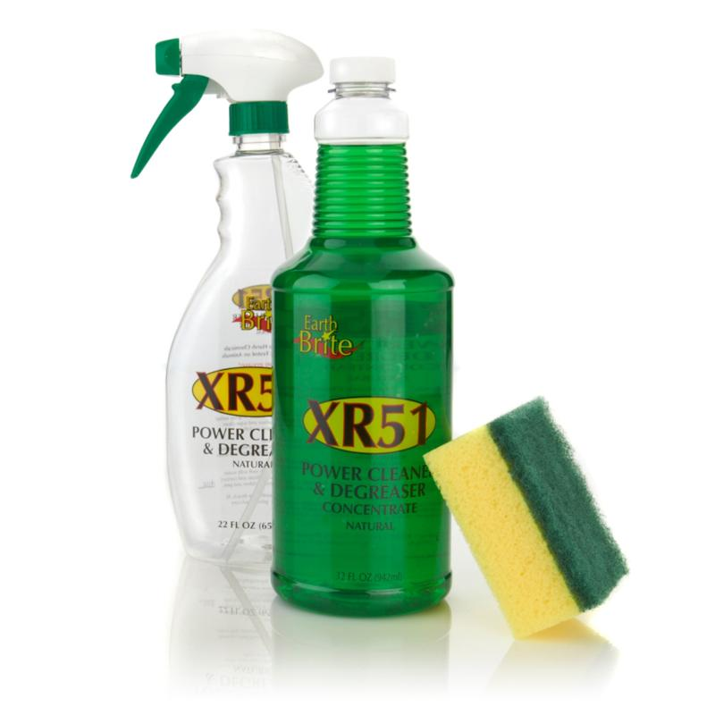Earth Brite Earth Brite XR51 Power Cleaner & Degreaser with Scouring Sponge