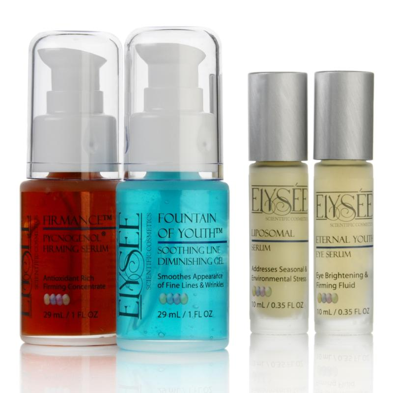 Elysee Youthful Transformation 4-piece Serum Collection
