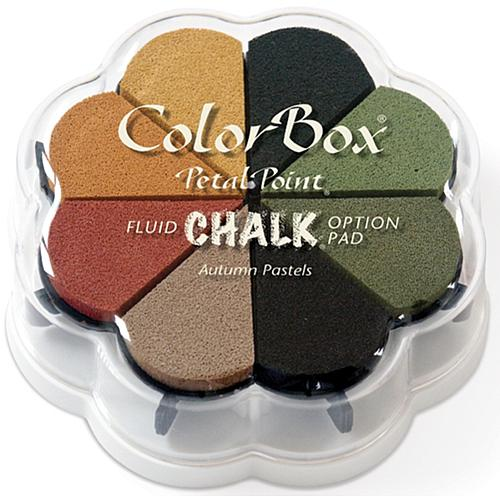 Fluid Chalk Petal Point Ink Pads - Autumn Pastels