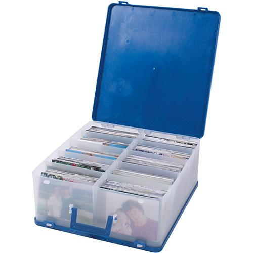 12 x 12 Photo Supply Case - Blue