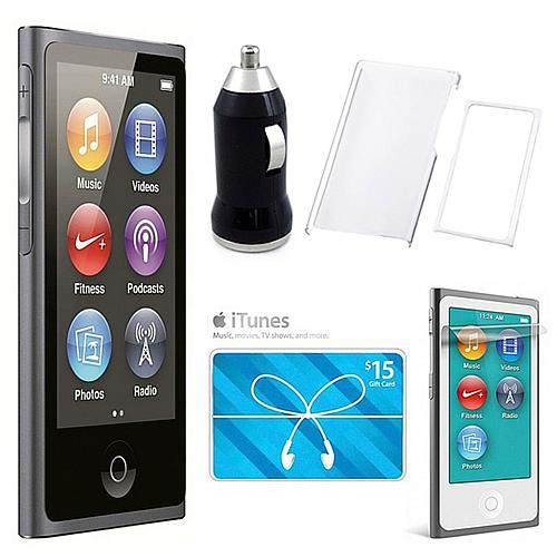 16GB 7th Generation iPod Nano Touch Bundle