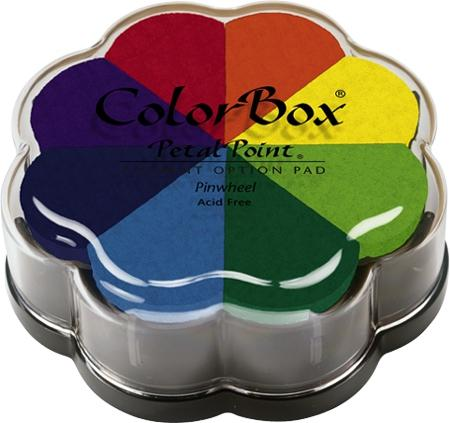 CLEARSNAP Colorbox Petal Point Pigment Option Pad 8/Color - Pinwheel