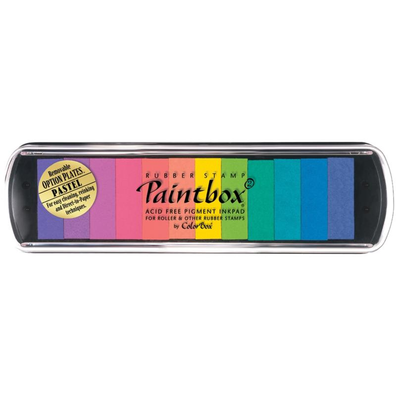 CLEARSNAP Colorbox Paintbox 2 Pigment Option Pad 12/Color - Pastel